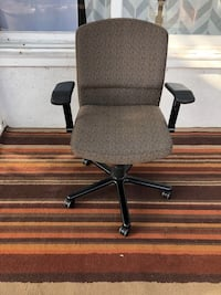 Brown Pattern Fabric Office Chair Los Angeles, 91423