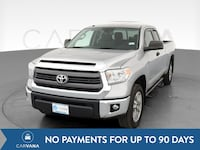 2014 Toyota Tundra Double Cab pickup SR5 Pickup 4D 6 1/2 ft Silver