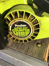Chain saw poulin38cc runs but need a gas tube in tank replaced cracked 25 bucks Concord, 03303