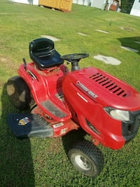 red and black Troy-Bilt riding mower Morgantown, 26508