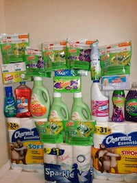 assorted-brand household cleaning product lot Houston, 77012