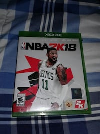NBA 2K18 Xbox One game case Melrose Park, 60160