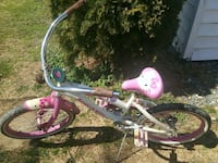 toddler's pink and white bicycle Keswick, 22947