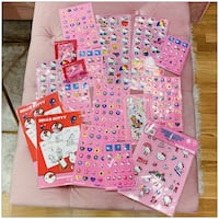 PRICE IS FIRM, PICKUP ONLY - HELLO KITTY STICKER BUNDLE- Toronto, M4B 2T2