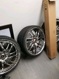 22 inche rims negotiate with me Rockville