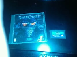 StarCraft PC game and Gunstar Hero's Sega Genesis game