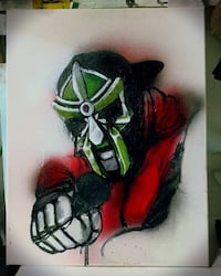 MF Doom original painting  Monroe, 71203