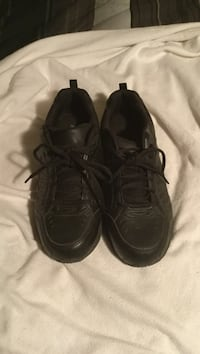 pair of black leather sneakers Bend, 97702