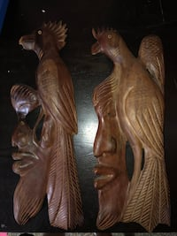 Hand crafted Cuban wall carvings Barrie, L4N 9T1