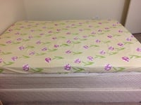 pink and white floral bed sheet Mississauga, L4T 2P7