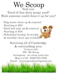 House cleaning Cambridge, N1R 3L2