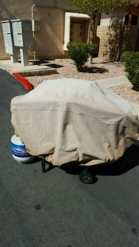 BBQ PROPANE GRILL w/ Cover and Tank. Henderson, 89014