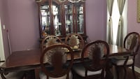 brown wooden dining table set Brampton, L6P 0Z4