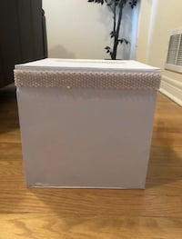 NEW White/Silver Money & Card Box  Markham, L6B 1N4