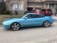 1993 Mazda MX6 Loaded and Lowered as is Toronto, M5J 2L5