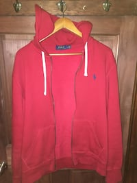 Red Polo Ralph Lauren Zip-Up Sweater Size Large Toronto, M1S 1N5