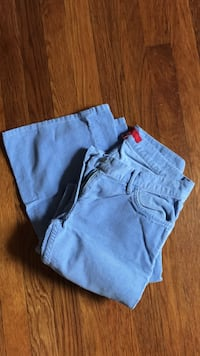 two gray and blue pants Washington, 20007