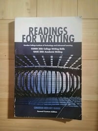 Readings For Writing  Guelph