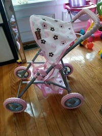 pink and white Minnie Mouse stroller Ellicott City, 21043