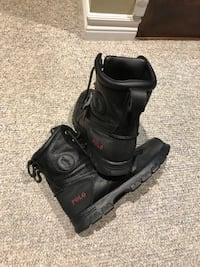 Black Ralph Lauren Polo boots size 9 but fits like 9.5 Vaughan, L6A 3W6