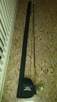 Fly Fishing rod real and case Toronto, M6H 2P3