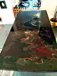 Hand painted dining room table  Bakersfield, 93308