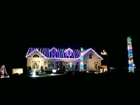 Christmas Lighting/decor installation