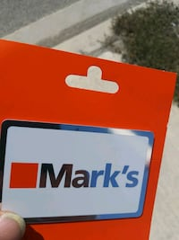 Marks mens 300 gift card for 240 Toronto, M5V 3W3