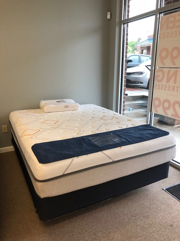 used queen mattress. Queen Size Mattress $169 Down From $199, Finance Your With Only $50 ! Used T