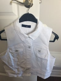 New white denim jacket size large Laval, H7X 3M8
