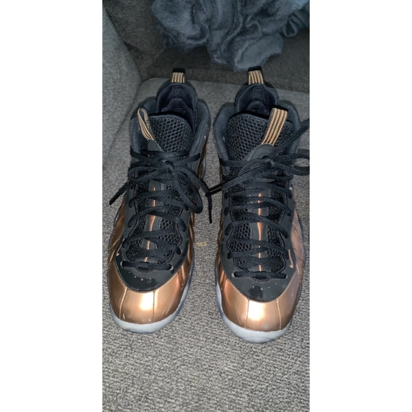 new product 04b2c b1236 Blue and white low 11's and black and gold foams