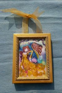 Classic beauty and the beast framed ornament  Anaheim, 92801