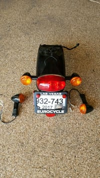 motorcycle taillight and turn signal lights Las Vegas, 89110