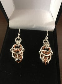 Sterling Silver with copper accent Earrings Colorado Springs, 80919