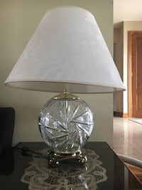 Set of 2 crystal lamps