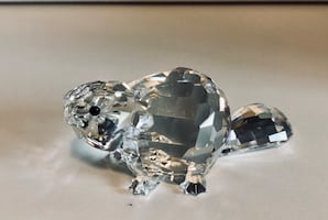 Swarovski Crystal Large Mother Beaver Figurine