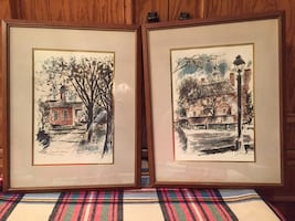 Williamsburg Water Color Prints