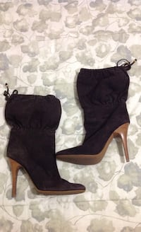 ALDO Brown Heeled Boots : Size 9 539 km