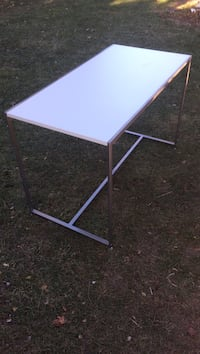 white and purple wooden folding table Villa Park, 60181