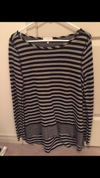Women's striped top, small