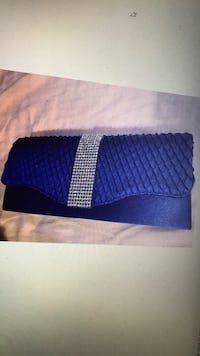 Blue party clutch with stones - brand new Chantilly, 20598