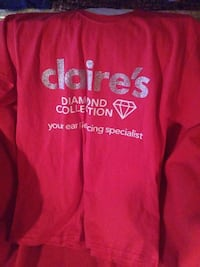 pink Claire's Diamond Collection sweater