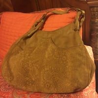 women's brown leather hobo bag New Orleans, 70126
