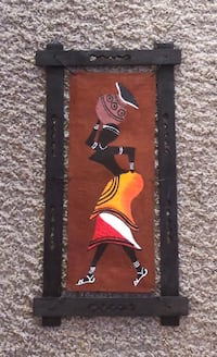 black and brown wooden wall decor Irving, 75063