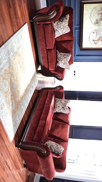 Burgandy Sofa & loveseat also Available Chair Livingroom  Jacksonville, 32246
