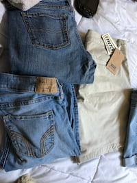 Vans and hollister clothes Royal Oaks, 95076