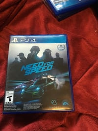 Need for speed ps4 game  Kitchener, N2H 2Z1