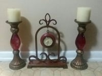 THREE MATCHING DECOR.....EXCELLENT CONDITION Center Point