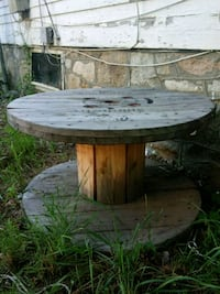 Cable Reel Coffee Table
