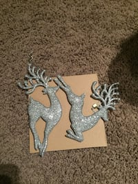 two gray reindeer decors Calgary, T2Z 0P8